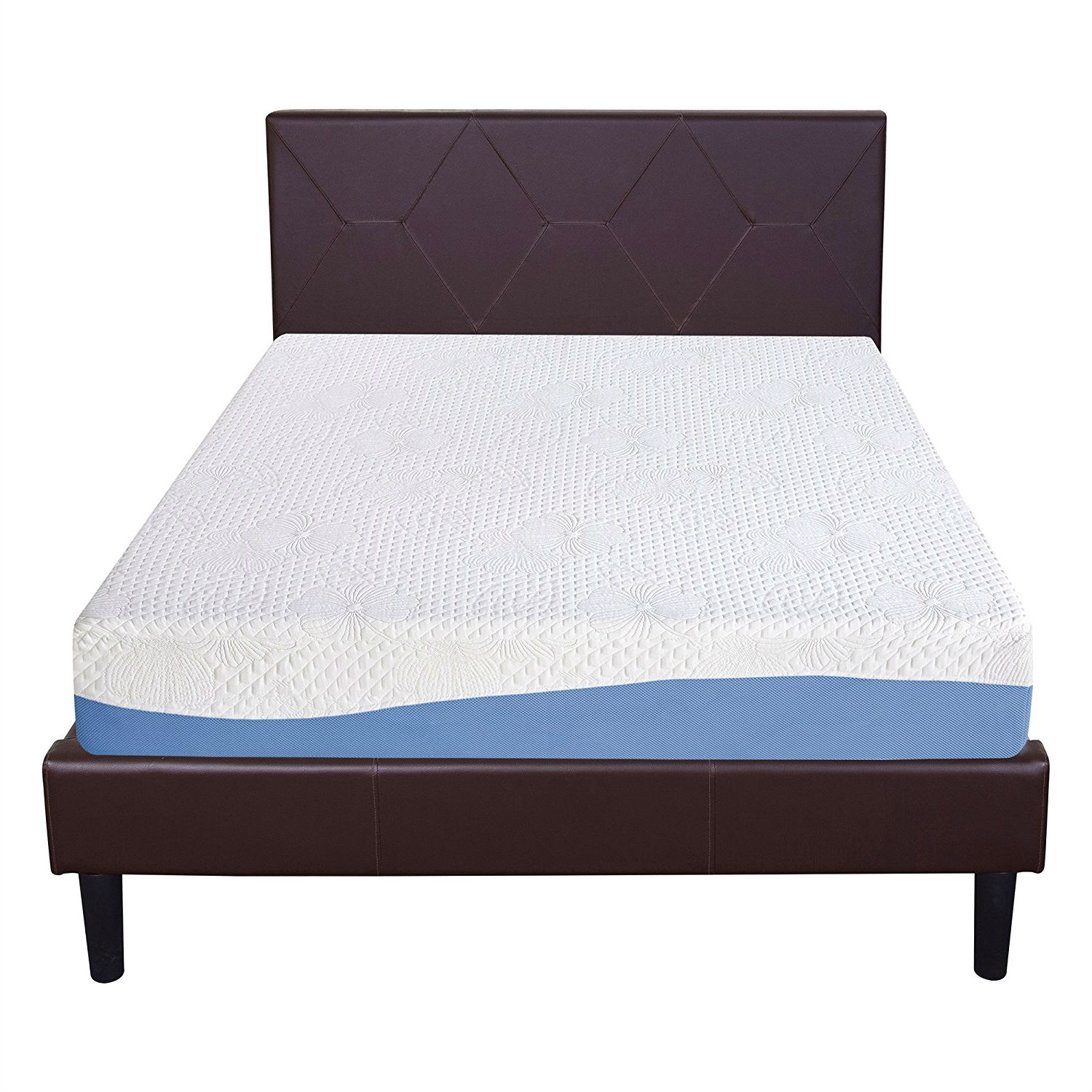 Queen size 10-inch Memory Foam Mattress with Gel Infused ...